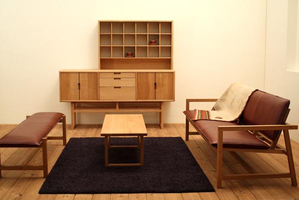 府中家具製 サイドボード『サルビア』