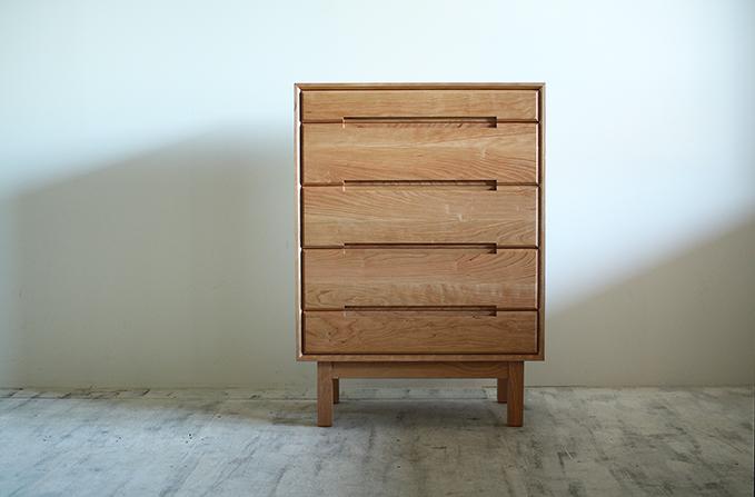 府中家具製 シンプルなチェスト