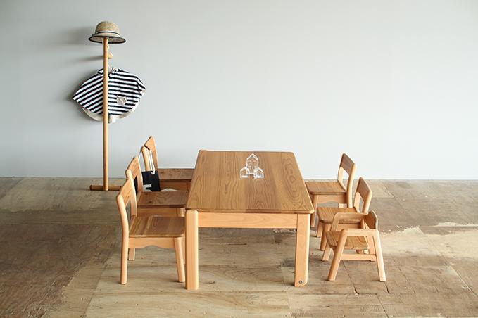 キッズチェア&テーブル HIDAのキッズ家具たち